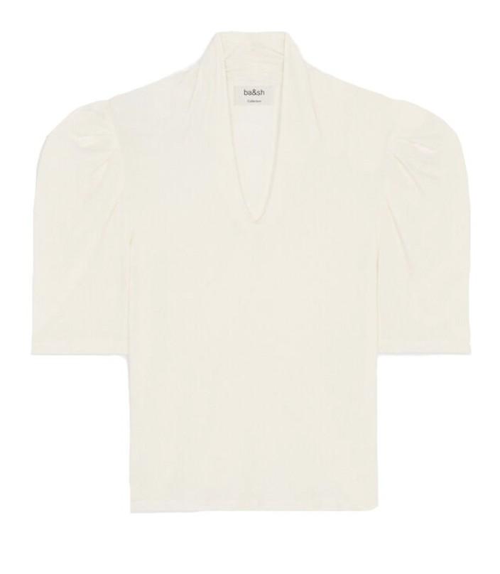 Ba&sh Kendall Top Off-White