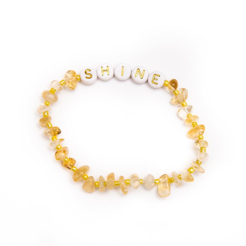 TBalance Shine Crystal Healing Bracelet Yellow