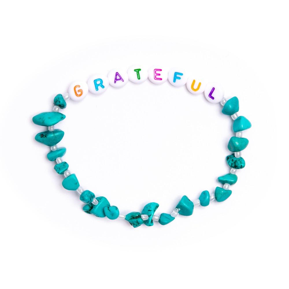 TBalance Grateful Crystal Healing Bracelet Turquoise
