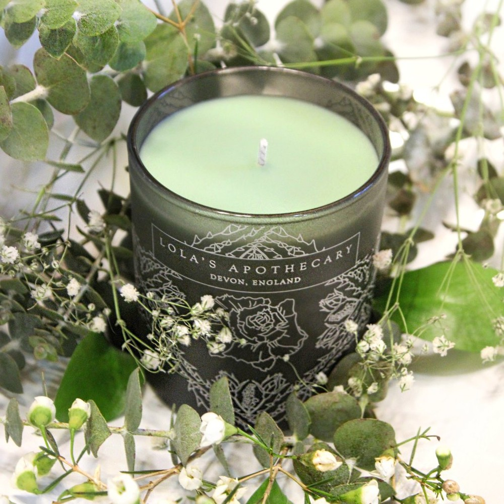 Lola's Apothecary Breath of Clarity Candle None