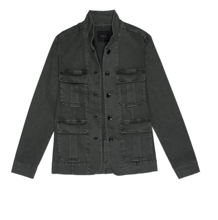 Rails Afton Jacket in Carbon Black