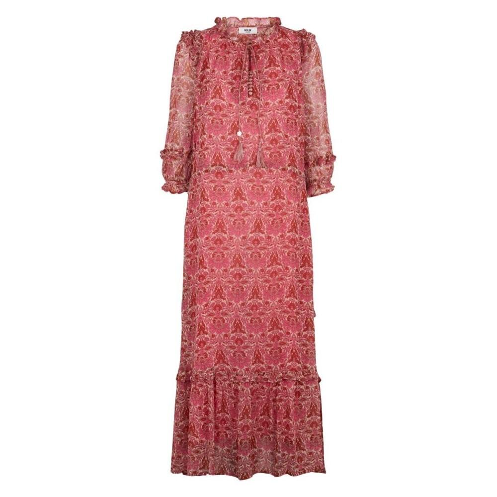 Moliin Olga Dress in Rose Violet Pink
