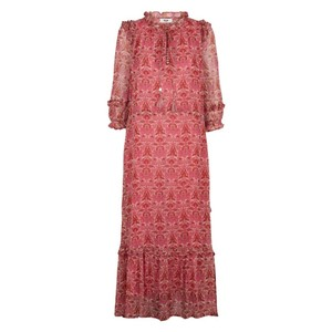 Moliin Olga Dress in Rose Violet