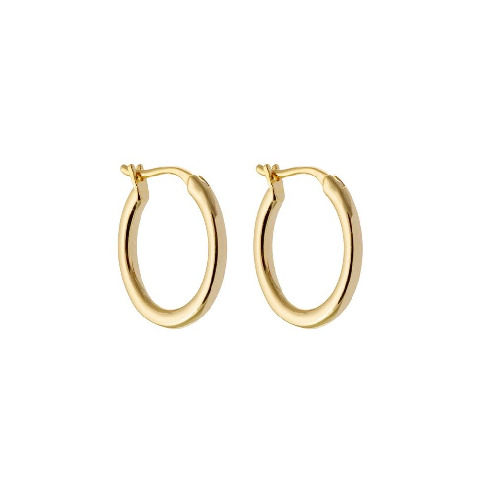 Atelier18 Golden Hoops 13mm Gold