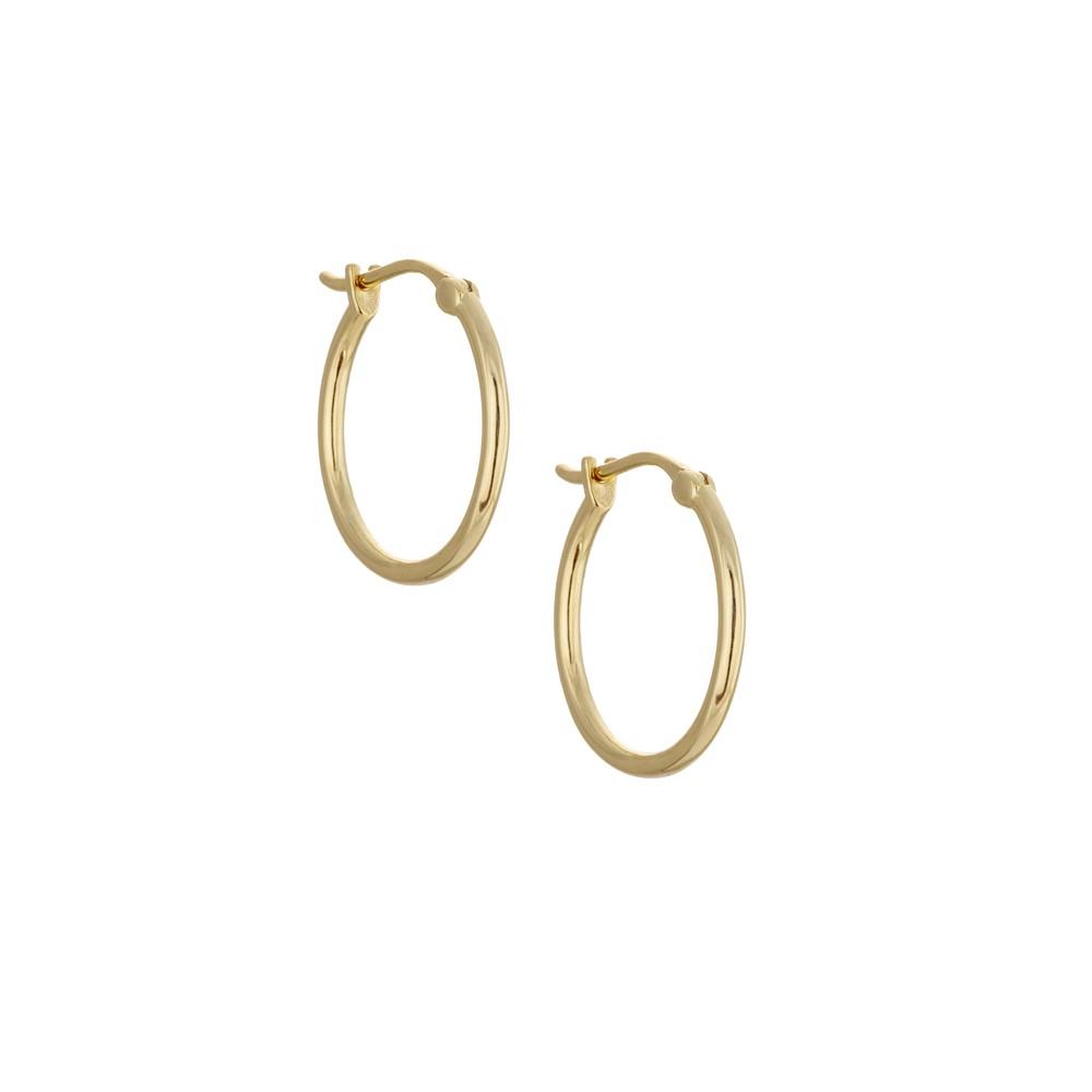 Atelier18 Golden Hoops 20mm Gold
