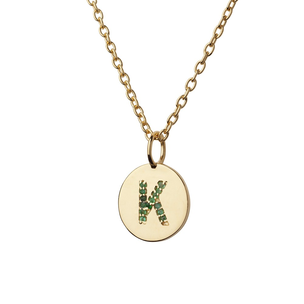 Atelier18 Alphabet Pendant K Gold