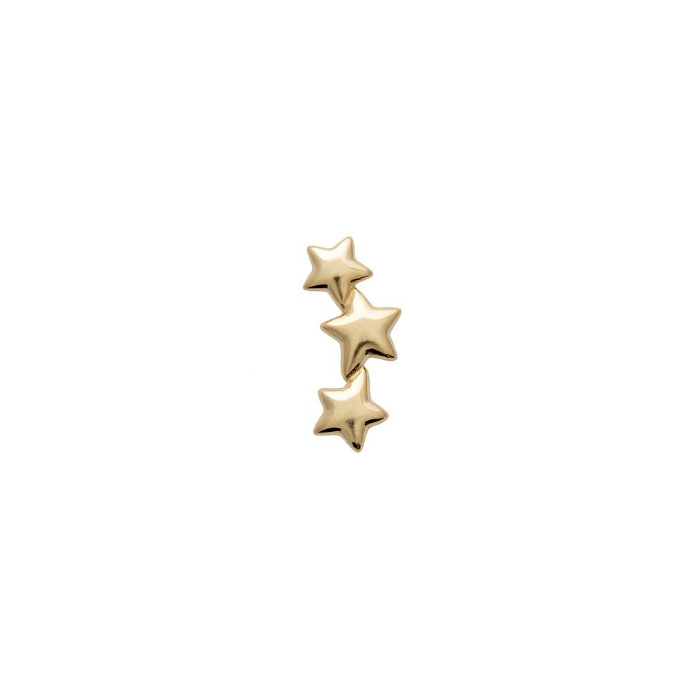 Atelier18 Tristar Studs Gold