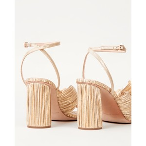 Loeffler Randall Camellia Bow Heel with Ankle Strap