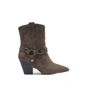 Sofie Schnoor Suede Chain Ankle Boots S213761