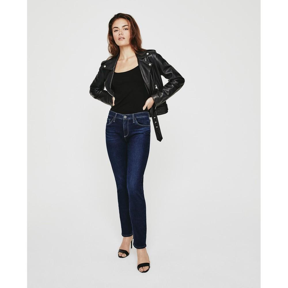 AG Jeans Prima Jeans in Castle Rock Mid Denim