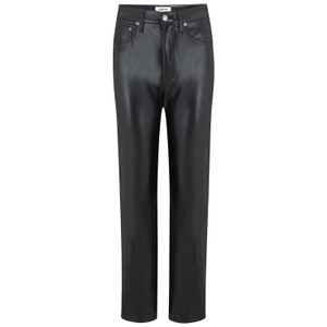 Agolde Recycled Leather 90s Pinch Waist Jeans in Detox
