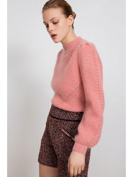 Suncoo Pardo Jumper in Pink Pale Pink
