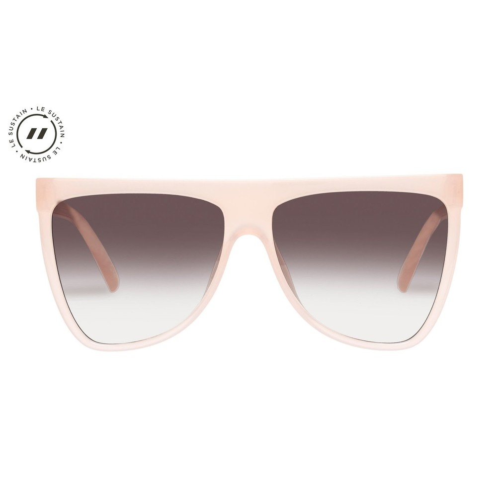 Le Specs Reclaim Sunglasses in Blush Pink Pink