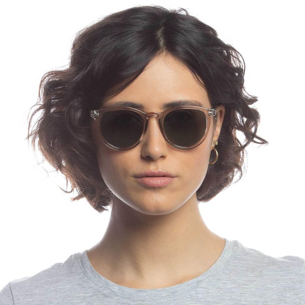 Le Specs Firestarter Sunglasses in Stone Beige