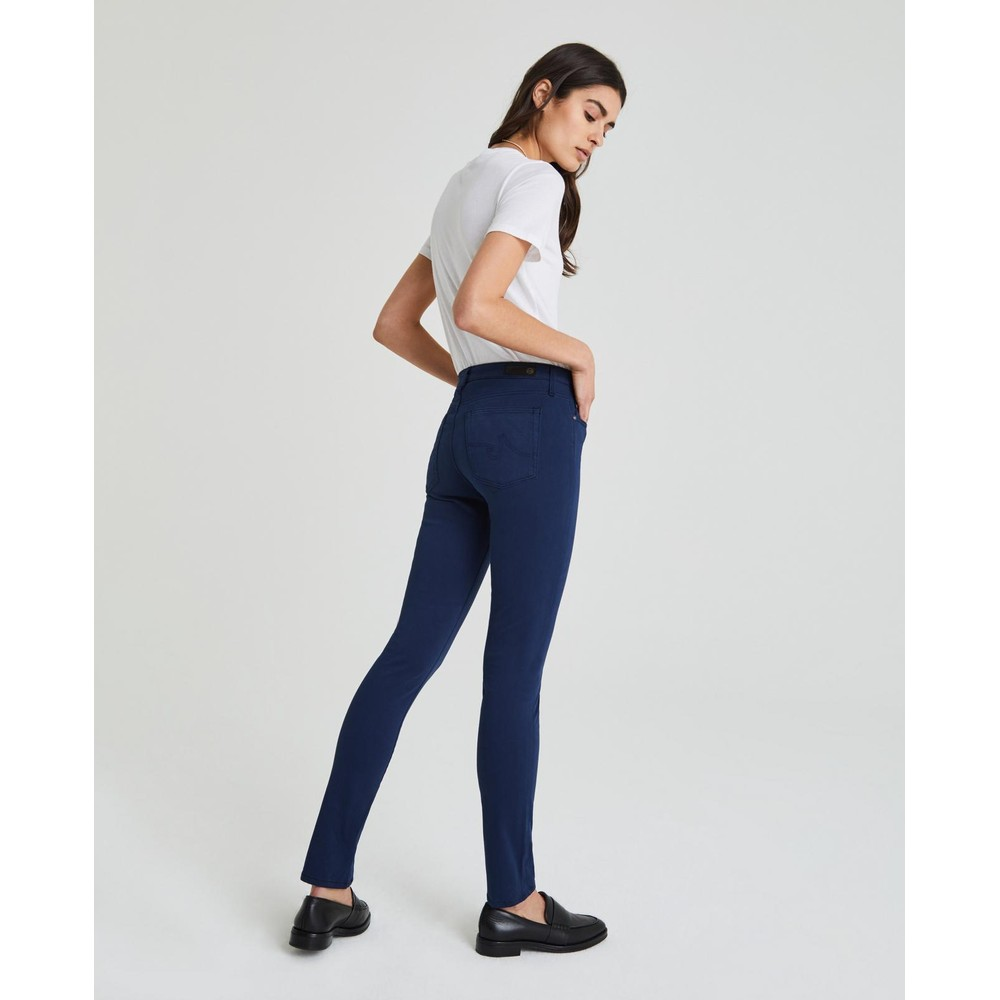 AG Jeans Prima Jeans in Super Stetch Sateen in Berlin Wash Blue