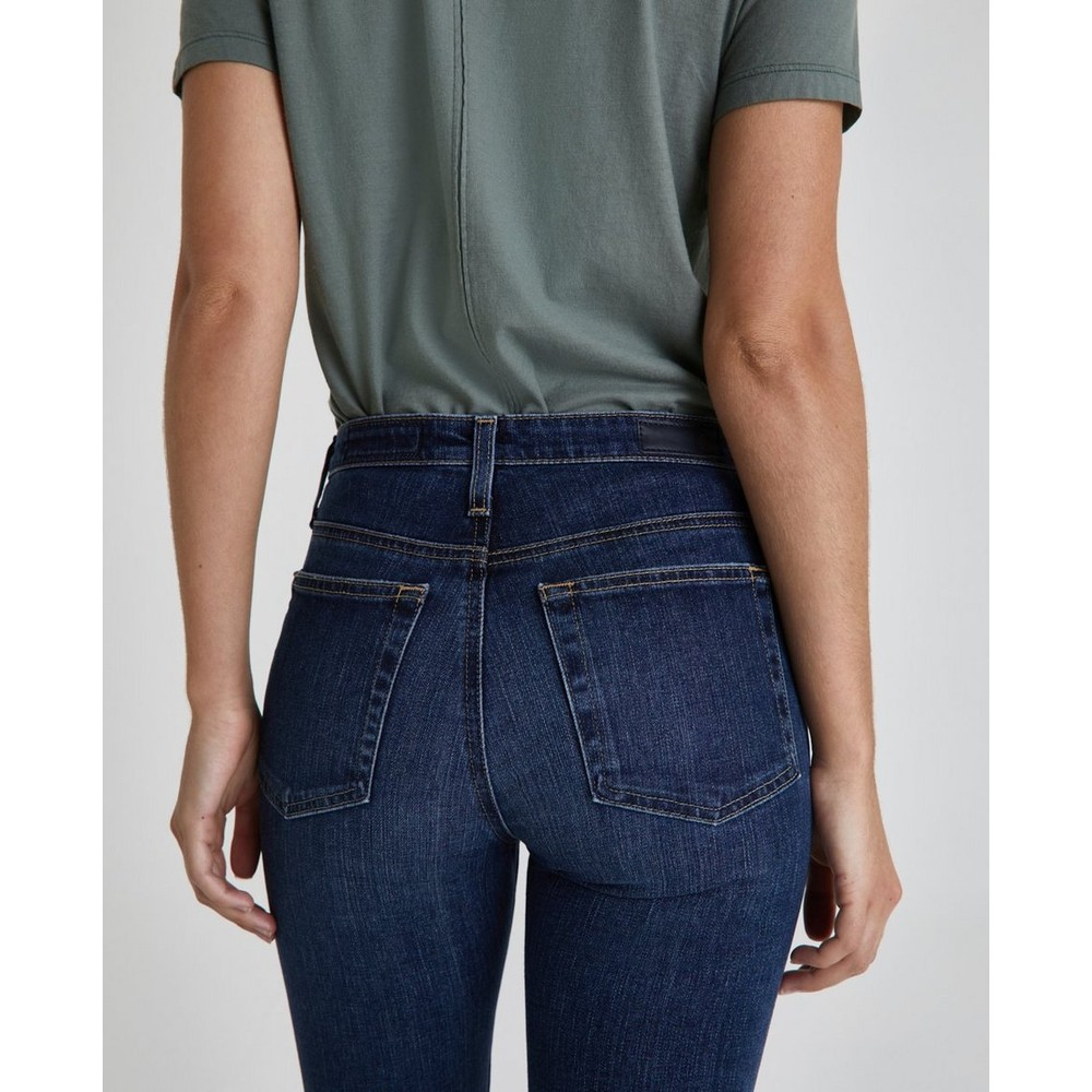 AG Jeans Isabelle Jeans in 5 Year Entropy Mid Denim