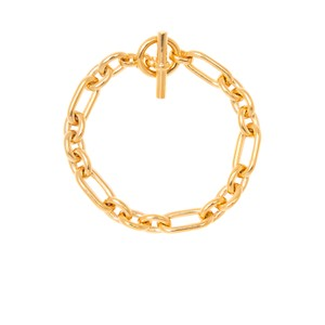 Tilly Sveaas Triple Linked Bracelet in Gold