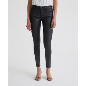 AG Jeans Legging Ankle in Leatherette Black