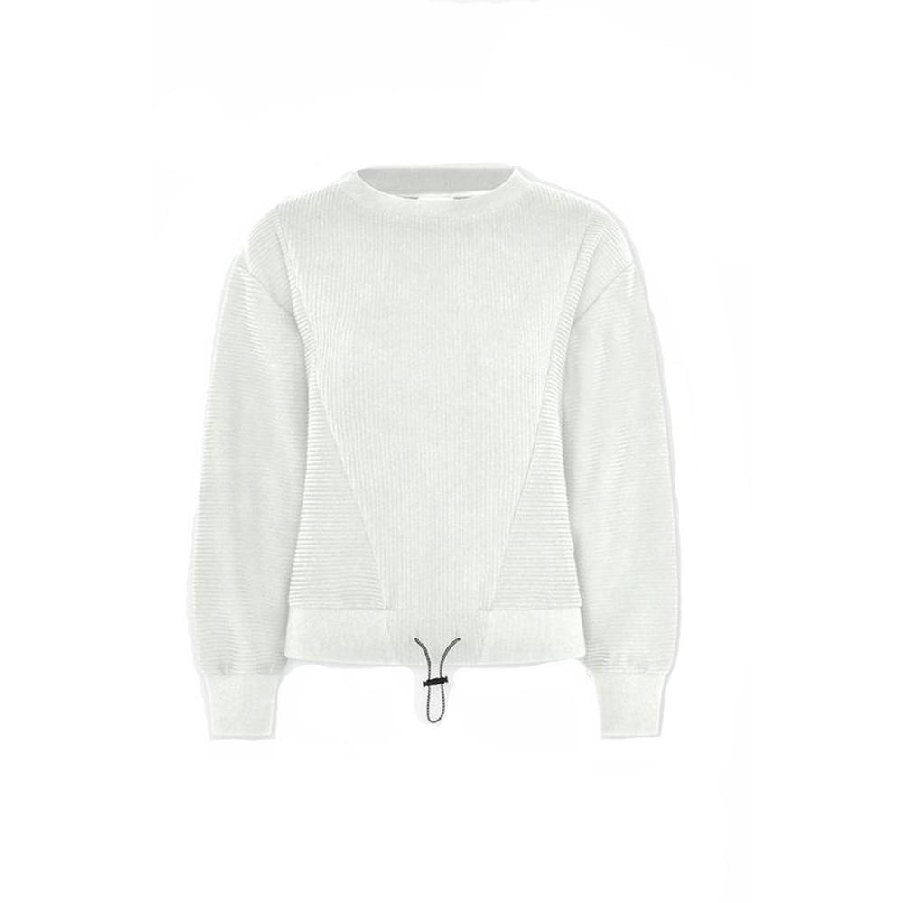 Varley Arleta Sweatshirt in Ivory Cloud Cream