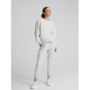 Varley Arleta Sweatshirt in Ivory Cloud