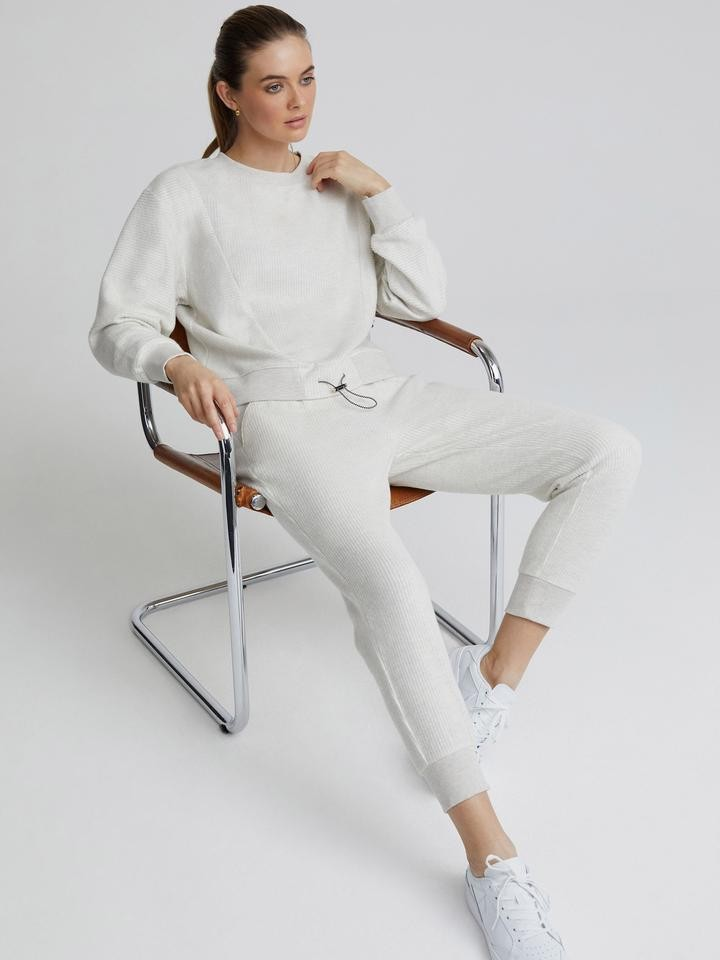 Varley Chaucer Pant in Ivory Cream