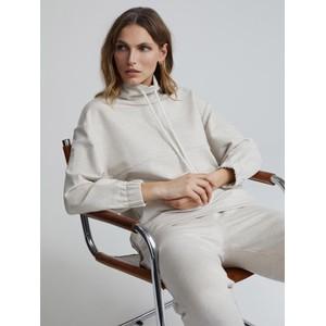 Varley Warwick Sweatshirt in Ivory Marl