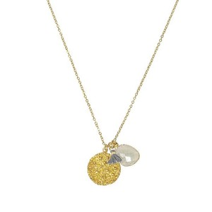 Ashiana Spell Coin Necklace in Moonstone
