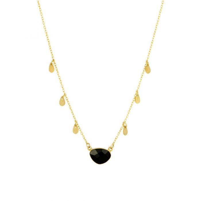 Ashiana Summer Necklace in Black Black