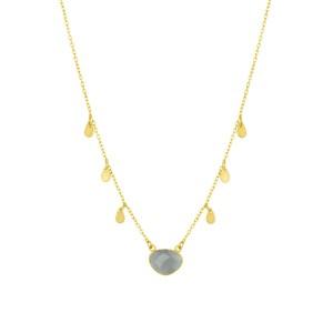 Ashiana Summer Necklace in Black in Grey