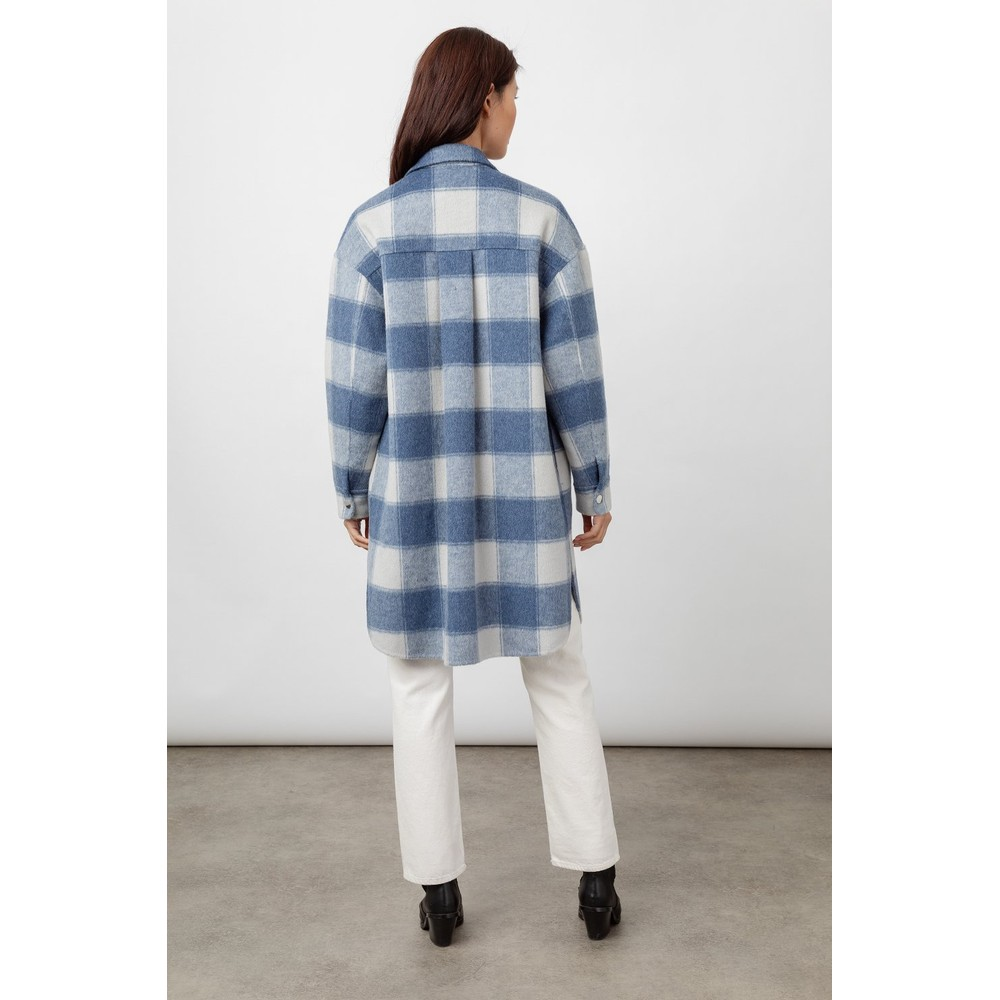 Rails Buffalo Check Jacket Blue