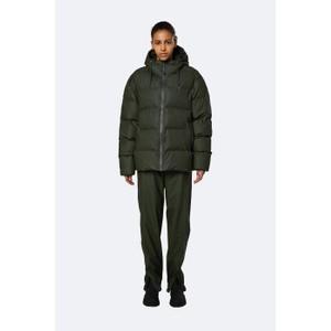 Rains Puffer Jacket in Green