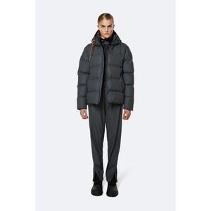 Rains Puffer Jacket in Black