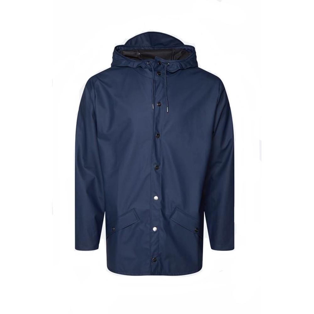Rains Jacket in Blue Navy