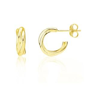 Auree Knightsbridge Yellow Gold Earrings