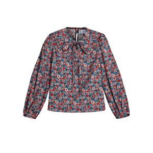 Pink City Prints Apple Blouse in Picnic