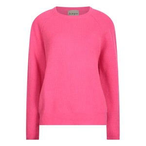 Jumper 1234 Waffle Sweater in Pink