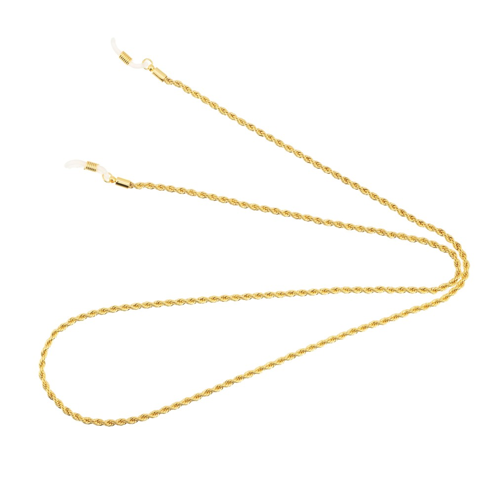 Talis Chains Rope Effect Sunglass Chain Gold