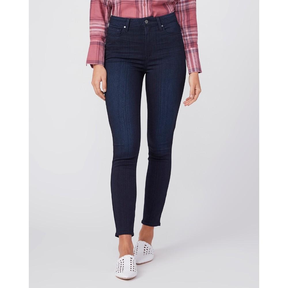 Paige Margot Ankle Jeans in Lana Dark Denim