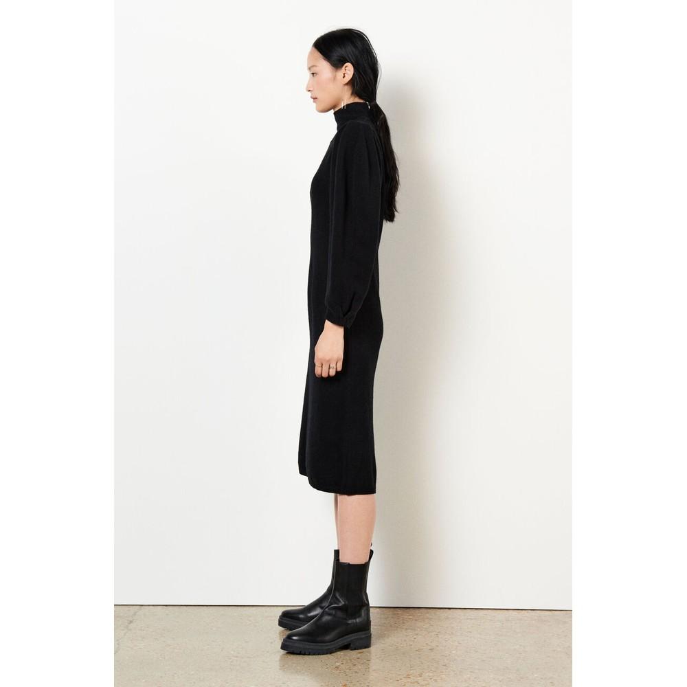 Ba&sh Felicity Dress in Black Black