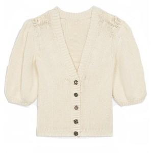 Ba&sh Castille Sweater in Ecru