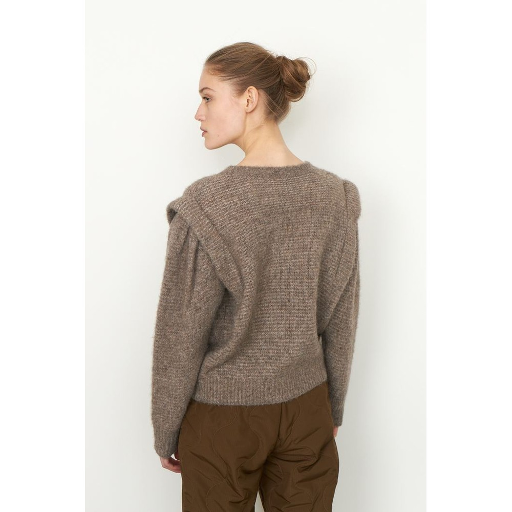 Second Female Abby Knit 0 Neck Natural