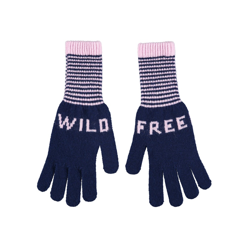 Quinton Chadwick Wild Free Gloves in Navy Navy