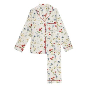 Yolke Classic Cotton Pyjama Set in Meadow Flower