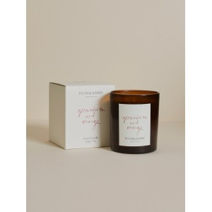 Plum & Ashby Geranium and Orange Candle