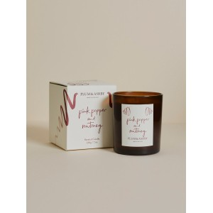 Plum & Ashby Pink Pepper and Nutmeg Candle