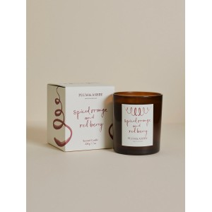 Plum & Ashby Spiced Orange and Red Berry Candle