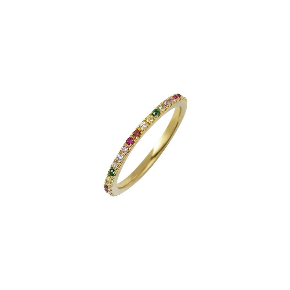 Rosie Fortescue Jewellery Rainbow Stacking Ring