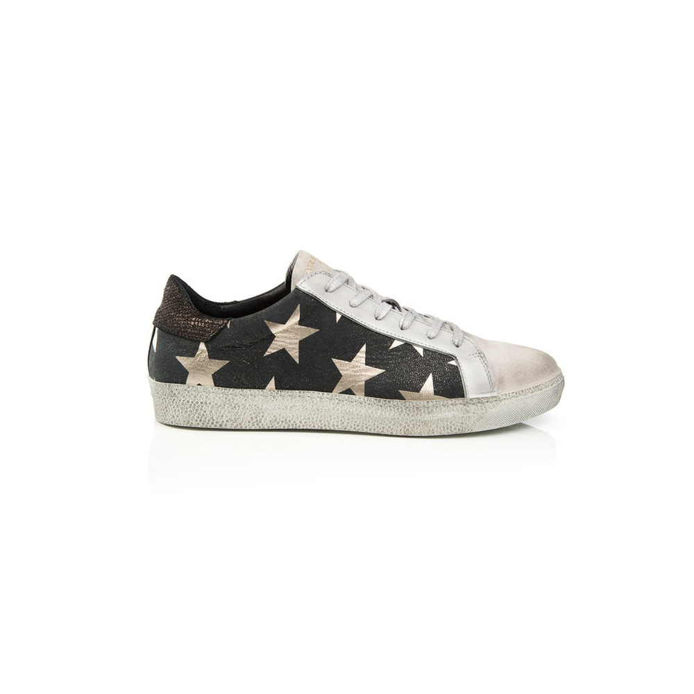 Air & Grace Cru Star Trainers Black