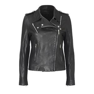 MDK Viola Leather Jacket in Black