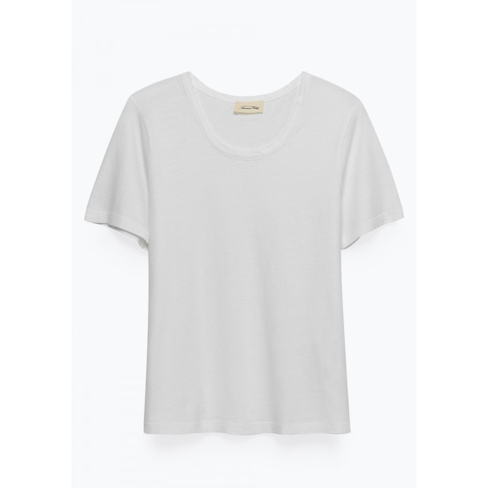American Vintage White Ixa T Shirt White